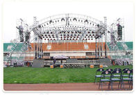 Outdoor Event Aluminum Square Truss / Stage Roof Truss With Canopy
