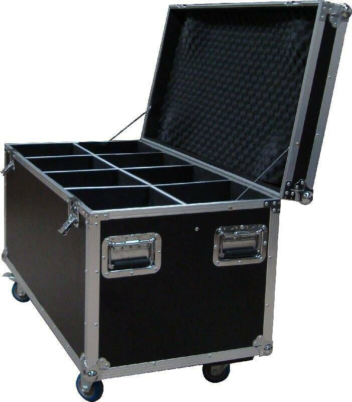 Led Light Aluminum Tool Cases Made By 9mm Or 12mm Plywood