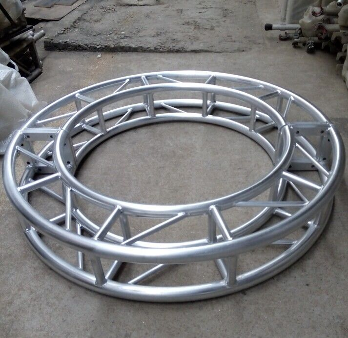 Heavy Duty Truss 250 X 250mm Mini Circle Screw  Aluminum Stage
